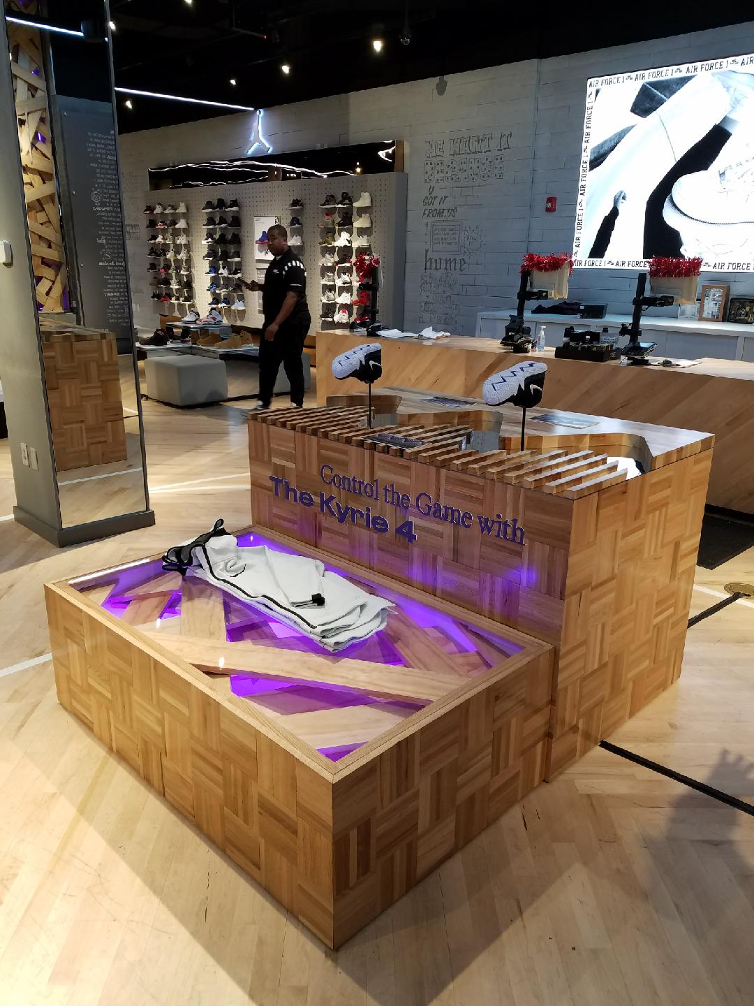 official photos 4ecda 3971c Nike Kyrie 4 Xylophone Table | ARCH Production and Design NYC