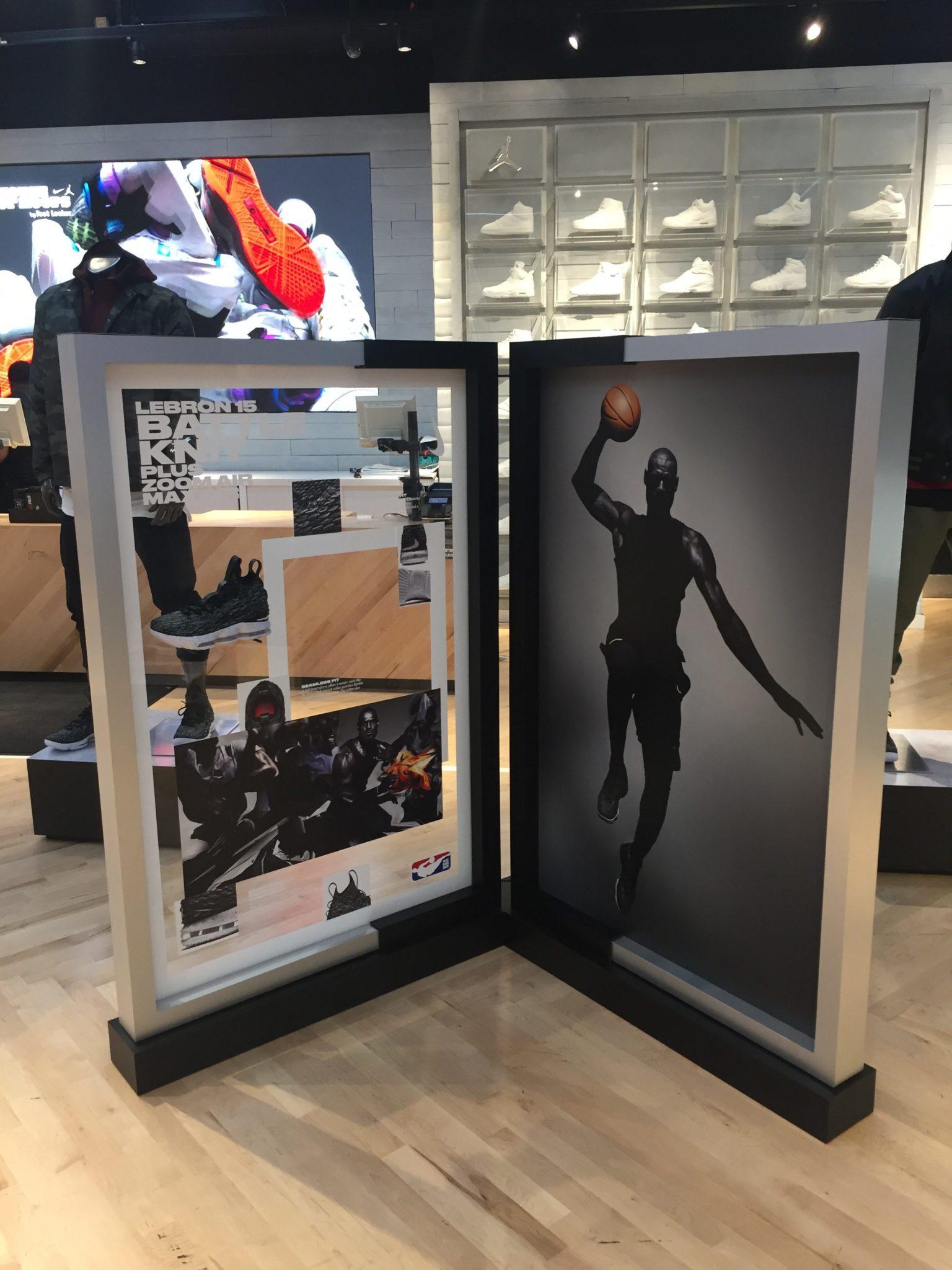the best attitude 916fd 8772e IDL Worldwide - Nike LeBron 15 Backboard   ARCH Production ...